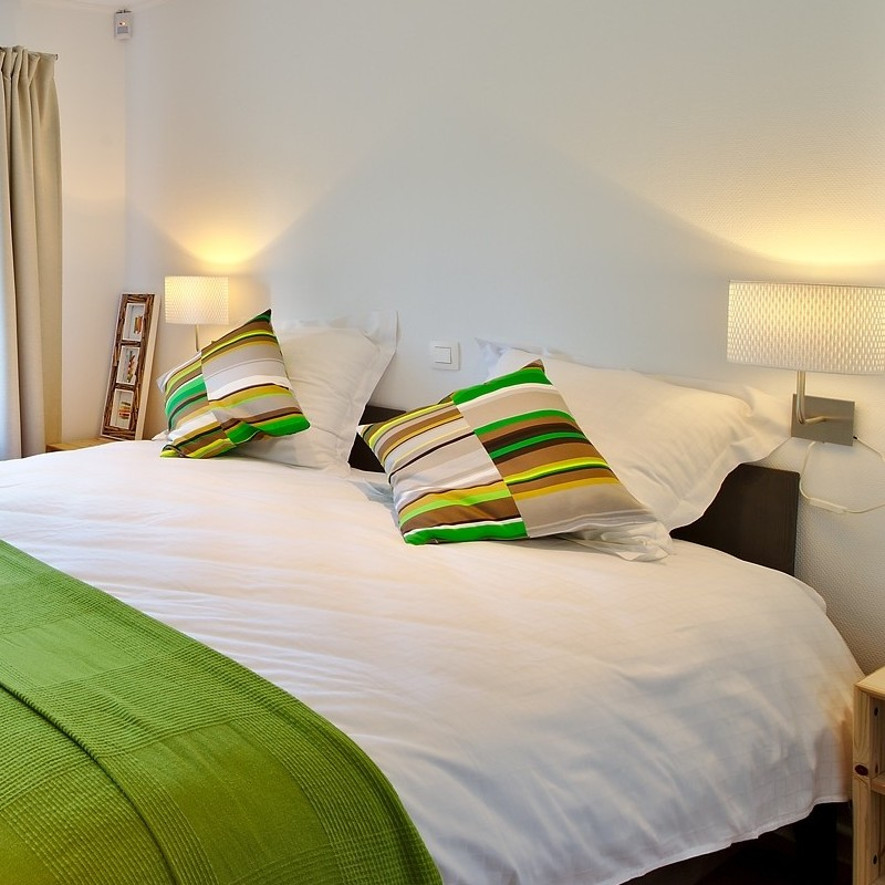 Barabas suites & chambres à thèmes du D'Arville à Wierde - Chambre aux pommes